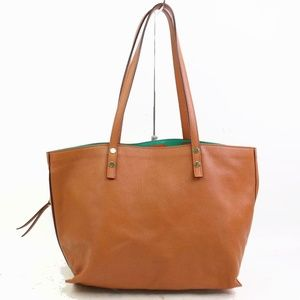 Auth Chloe Dilan Leather Tote Bag #1045C21